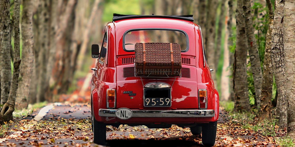 cinquecento old italian car