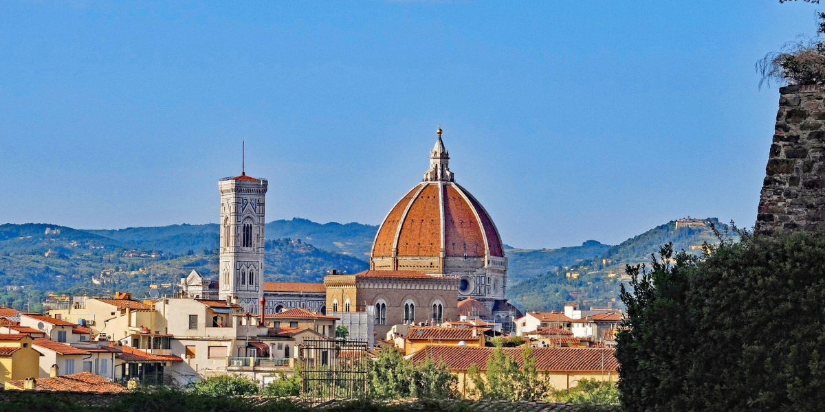 view of florence dome and belltower